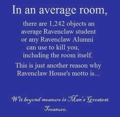 For my Ravenclaw hubby @Rory Baer. Welcome, babe.
