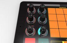 Tuna DJ Gear - Tuna Knobs (4 Stück)-