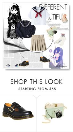 """""""Cookies!"""" by doodle-all-day ❤ liked on Polyvore featuring INC International Concepts, Dr. Martens and Lomography"""