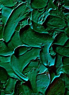 Green paint strokes.                                                                                                                                                                                 More
