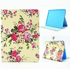 The Roses Design Case with Stand for iPad Air 2 / iPad mini 3
