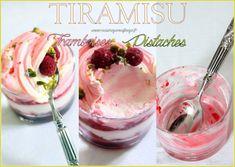 Tiramisu framboises pistaches Panna Cotta, Biscuits, Muffins, Food And Drink, Pudding, Fruit, Cooking, Ethnic Recipes, Raspberry Tiramisu