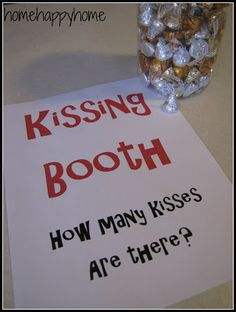 How many kisses in the jar. Did this with crayons in first grade, still have the valentine's paint pail I used.