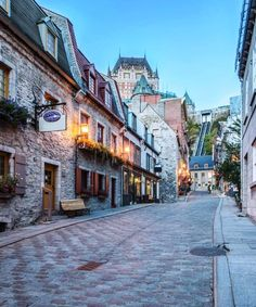 Fortified Old Town - Quebec - Canada
