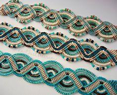 approx. 40.64 cm Siete Chakra Collar de plata con piedras preciosas perlas y encanto espiral tibetana 16 in