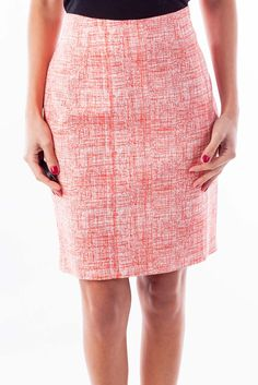 d6e7a0dfd Fancy skirts versatile for all events red & white print pencil skirt by  Katherine Barclay