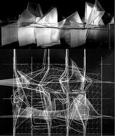 """Competition for a Virtual House 1997. Peter Eisenman. """"The virtual is opposed not to the real but to the actual. The virtual is fully real ..."""