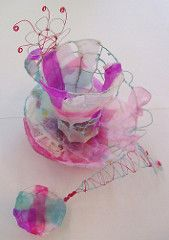This cup was one of the lovely pieces created during the workshop by one of the students at the RBSA Gallery workshop. Sculpture Textile, Textile Art, Sculpture Art, Pink Tea Cups, Art Deco, Tea Art, My Cup Of Tea, Wire Art, Design Crafts