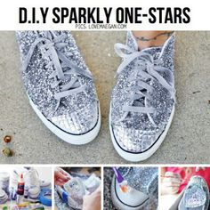 Die 36 besten Bilder zu diy shoes* | Diy schuhe, Alte schuhe
