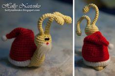 my design! :) crochet snail