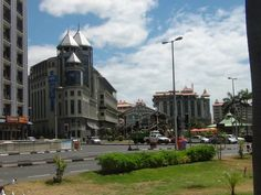 The Caudan waterfront in Port-Louis