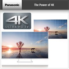 The power of 4K Panasonic Ultra HD TV Television