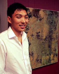 Artist Reception over the weekend for Zol, St. Petersburg, Russian born artist now in the US.