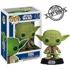 FUNKO Pop! Star Wars Yoda Vinyl Bobble Head Figure walmart $10