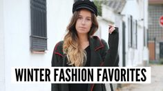 Winter Fashion Favorites / Favoritos Moda Invierno- Trendencies TV. Youtube Video