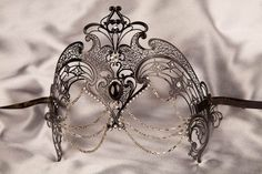 venetian mask luxury | Luxury Venetian Filigree Metal Masquerade Mask - CORONA £85 | MASKS