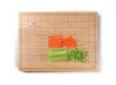 The OCD Chef Cutting Board - I have some slight OCD traits, this would be divine...