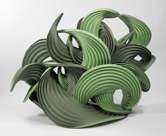 Curved Crease Sculpture (2012) by Erik and Martin Demaine