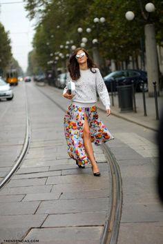 #ranitasobanska #fashion #inspirations Eleonora Carisi in Chanel... going to the supermarket?