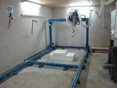 DIY 5 axis foam milling machine