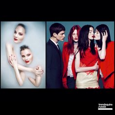 Red kiss #trendsquire.russia