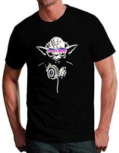 YODA DJ Jedi Master Inspired Star Wars Yoda DJ Funny T-Shirts   Star Wars Shop