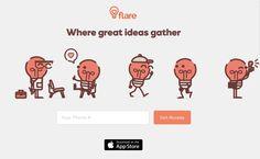 #Móviles #feedback #ideas GoDaddy lanza Flare, app social para ayudar en las ideas de negocios