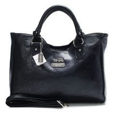 #CoachOnlines Coach Legacy Large Black Satchels ABW Is The Best Choice To Send Your Friend As A Gift.