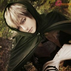 attack on titan armin cosplay | Attack-on-Titan-Jean-Kirstein-Linen-Mix-Short-Cosplay-Wig-Free-Wig-Cap ...