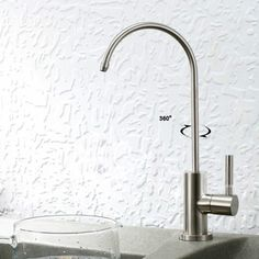 Lead Free Stainless Steel Water Filter Tap