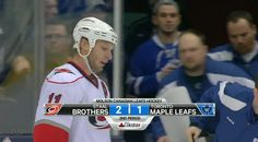 #StaalBrothers 2, Toronto Maple Leafs 1. @Carolina Hurricanes too funny   Luvin IT!!