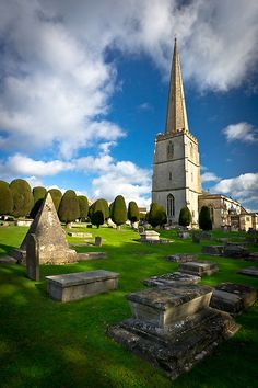 St Mary's, Painswick, Cotswolds, England by Giles Clare