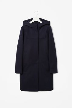 Hooded wool coat | cos