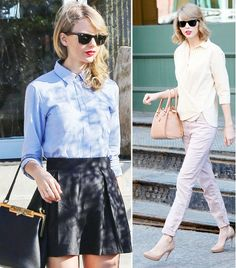 @Who What Wear - When Taylor Swift isn't lighting up the stage or attending award shows with her famous friends, she goes about her days in a very fashionable way. As such, we're paying homage to her classic, ladylike look, by breaking down the formulas behind some of the singer's most stylish off-duty outfits so that anyone can copy them! Click through for a week's worth of easy, effortlessly cool outfits.