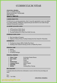 Curriculum Templates for Teachers and 20 Fresh Resume Template Professional Free Resume Templates Cv Resume Sample, Resume Pdf, Basic Resume, Student Resume Template, Sample Resume Templates, Letter Templates, Resume Tips, Resume Template Free, Simple Resume Format