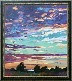 Shem Creek, Mount Pleasant, South Carolina. Painting by Betty Anglin Smith, Anglin Smith Fine Art (http://anglinsmith.com/)