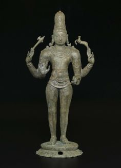 Shiva as Chandrashekhara - Medium: Bronze. Place Made: Southern India, Tamil Nadu, India. Dates: ca. 970 C.E. Dynasty: Chola dynasty.