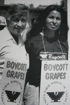 Eva Royale and Cesar Chavez!!!