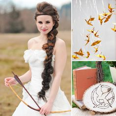 @Kylie Bauer @Stephanie Nicola I know you BOTH want to have a Hunger Games Wedding...