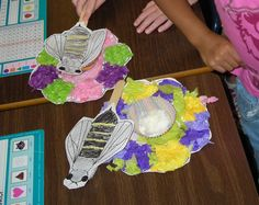 To teach pollination.  Chn make flowers and bees.  Attach cotton ball to back of bee.  Sprinkle yellow cake mix on flower and shn fly bees around the room pollinating flowers.