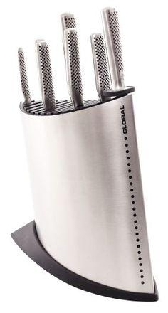 The official knife block set of MasterChef SA. Ayoba.