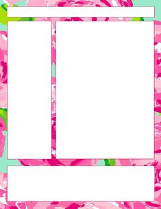 Stay Fabulous: Lilly Note Taking Printables