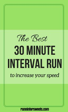 30 Minute Interval Workout | Running Workouts for Speed | Workouts to Get Faster | Running Workouts for Beginners | Running Strength