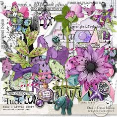 Need a Little Luck #needalittleluck #handmade #visualartmediabundle #dawninskip #scrapbookgraphics