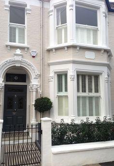 Classic London Front Garden Design | London Garden Blog