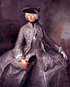 Antoine Pesne hofdame ; Prinzessin Amalia von Preussen als Amazone - Category:Portrait paintings of women wearing tricorne hats - Wikimedia Commons