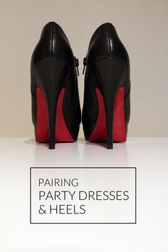 matching your dress & shoes
