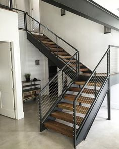 Our reclaimed wood transformed into stair treads by Will Smith. #evolutia #evolutiamade