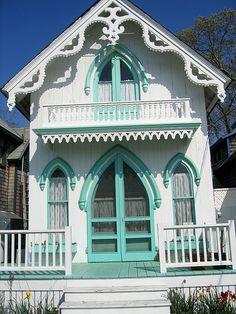 Cosy House ~ Gingerbread house, Martha's Vineyard Island, Mass.
