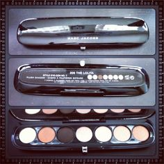 Marc Jacob Eyecon No. 7 palette in Lolita. Love the colors, but the matte shades are very chalky:-( $59